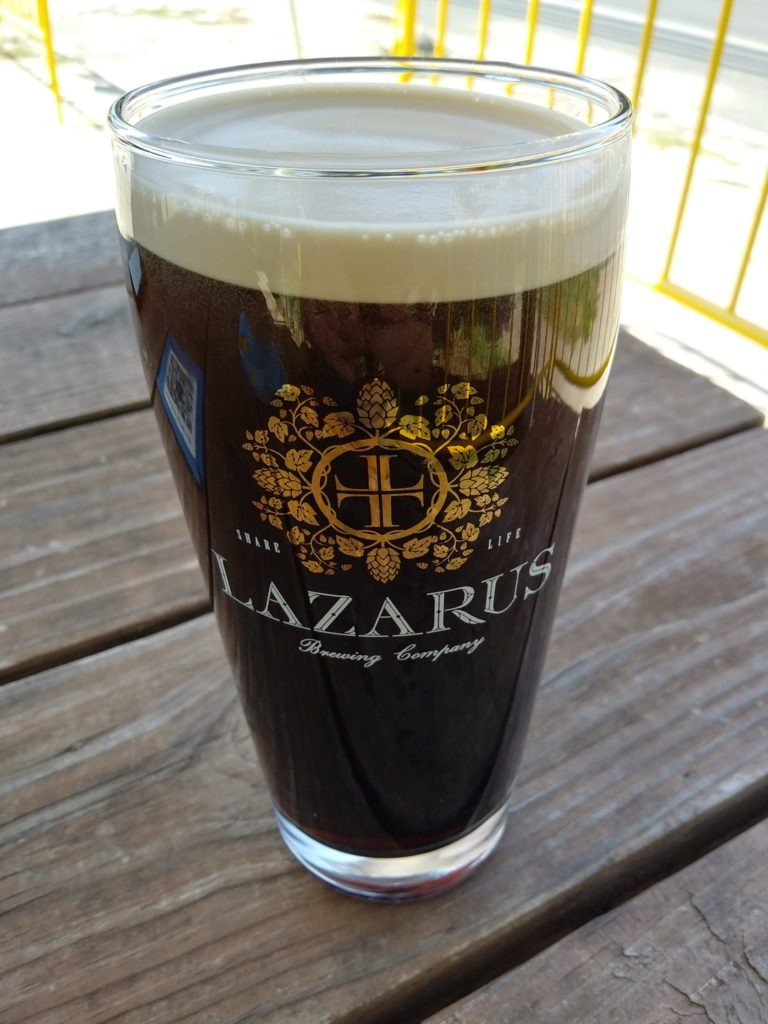 Lazarus Brewing beer