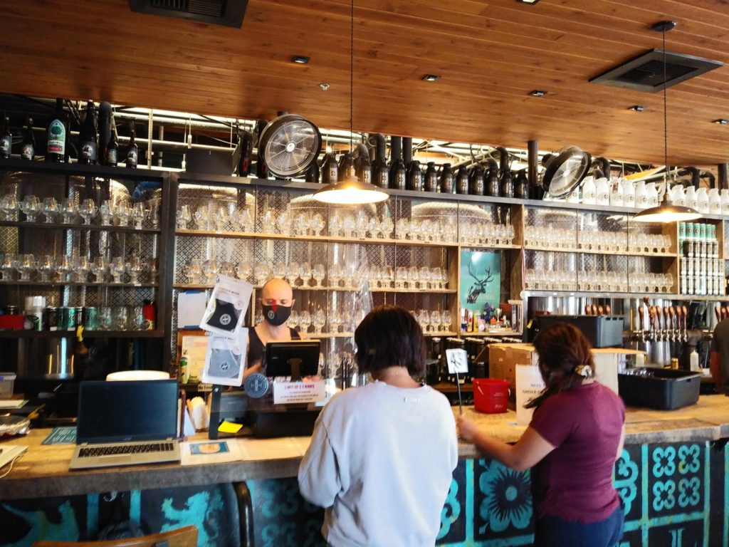 Lazarus Brewing tap room