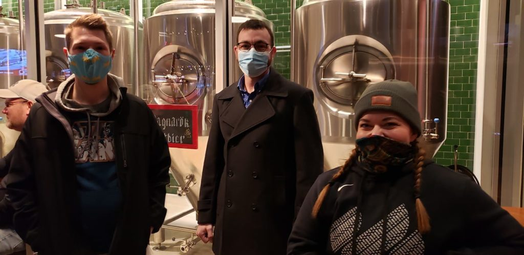 Tallgrass Brewery trip 1